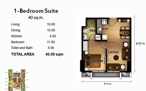 1 Bedroom 40 Sqm3 More Houses And Condo Options